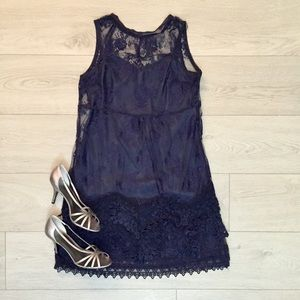 Forever 21 lace shift mini dress